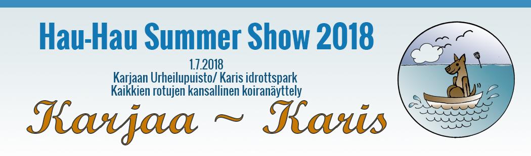 Karjaa Hau-Hau Summer Show 2018
