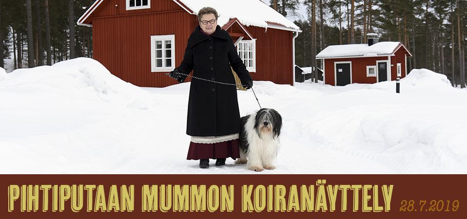 Pihtiputaan mummon koiranäyttely 28.7.2019