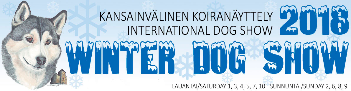 Turku Winter Dog Show 2018