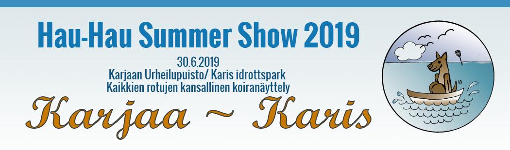 Karjaa Hau-Hau Summer Show 2019