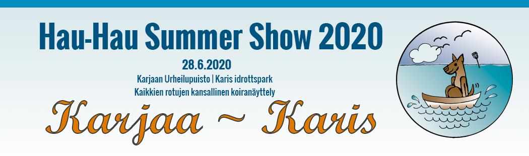 Karjaa Hau-Hau Summer Show 2020