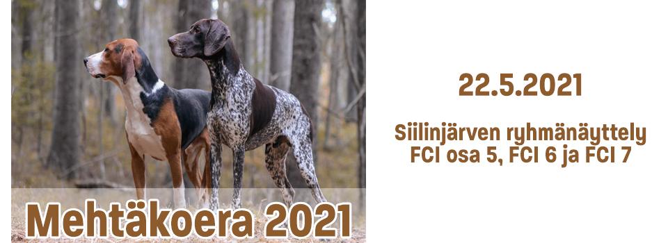 Mehtäkoera 2021 – 22.5.2021