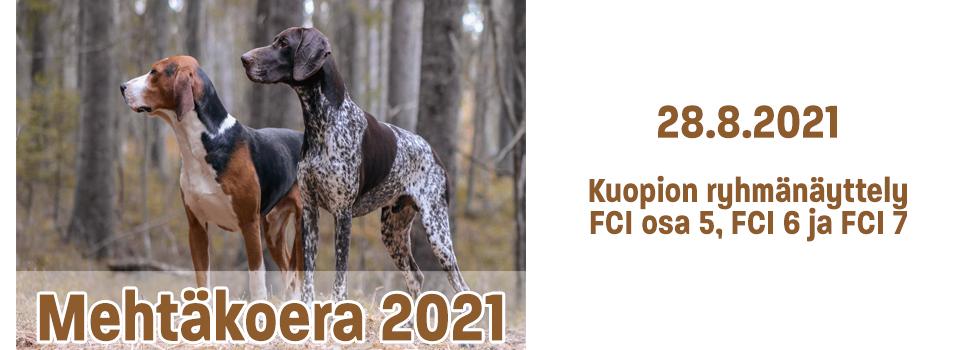 Mehtäkoera 2021 – 28.8.2021