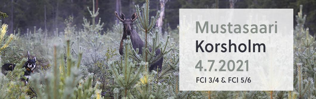 Mustasaari – Korsholm 4.7.2021