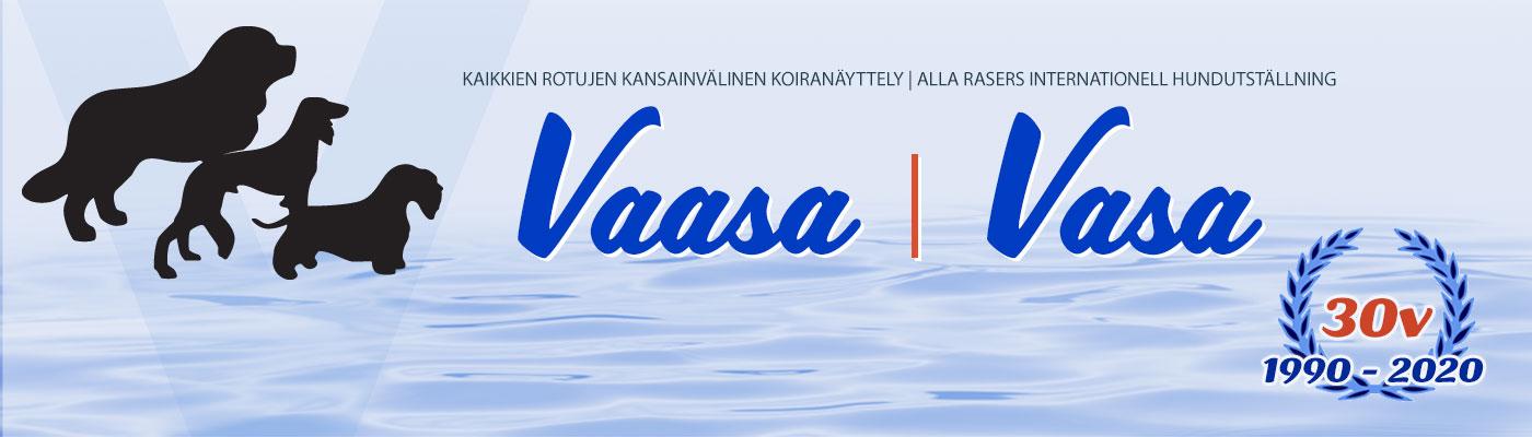 Vaasan kansainvälinen näyttely 18.-19.4.2020